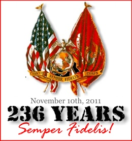 Happy birthday USMC: 236 Years