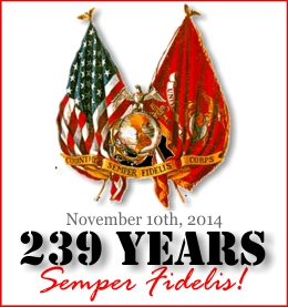 Happy birthday USMC: 238 Years